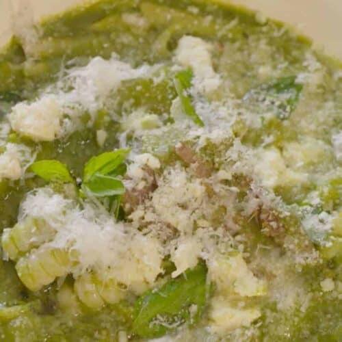 sopa de menestón